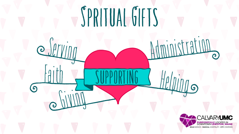 spiritual gifts - supporting